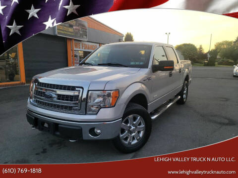 2013 Ford F-150 for sale at Lehigh Valley Truck n Auto LLC. in Schnecksville PA