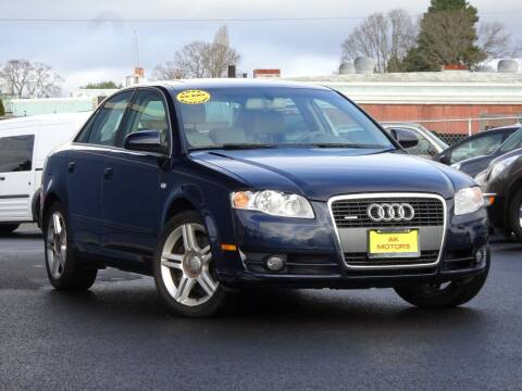 2006 Audi A4 for sale at AK Motors in Tacoma WA