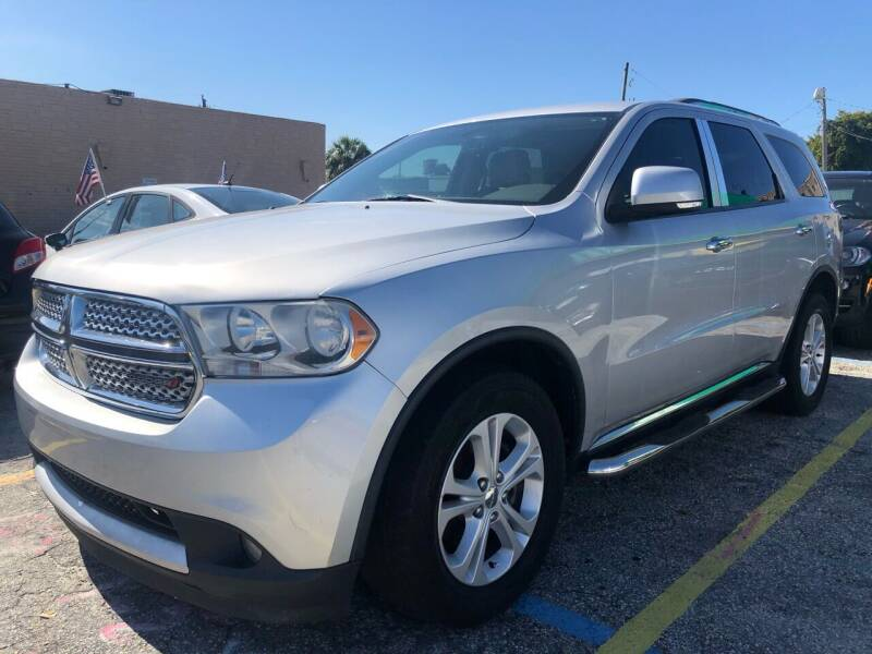 2013 Dodge Durango for sale at Trans Copacabana Auto Sales in Hollywood FL