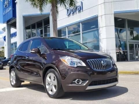 2016 Buick Encore for sale at DORAL HYUNDAI in Doral FL