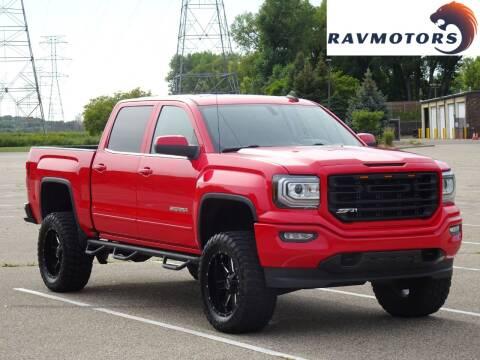 2017 GMC Sierra 1500 for sale at RAVMOTORS in Burnsville MN
