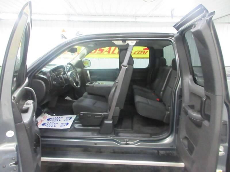 2011 Chevrolet Silverado 1500 4x4 LT 4dr Extended Cab 6.5 ft. SB - Ardmore TN