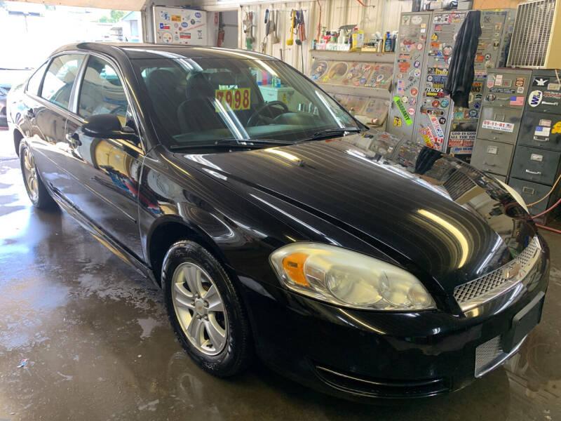 2013 Chevrolet Impala for sale at BURNWORTH AUTO INC in Windber PA