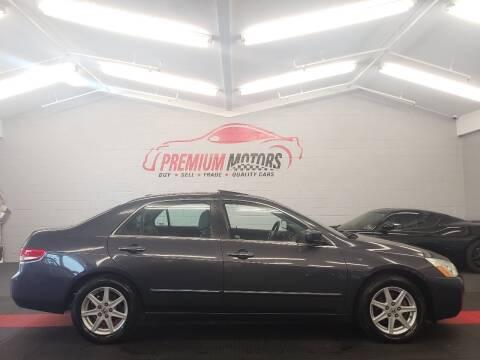 2004 Honda Accord for sale at Premium Motors in Villa Park IL