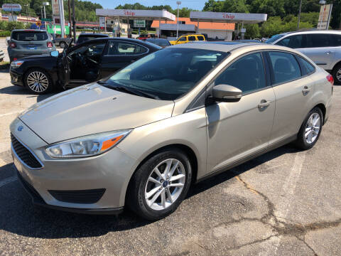 2015 Ford Focus for sale at Penland Automotive Group in Laurens SC