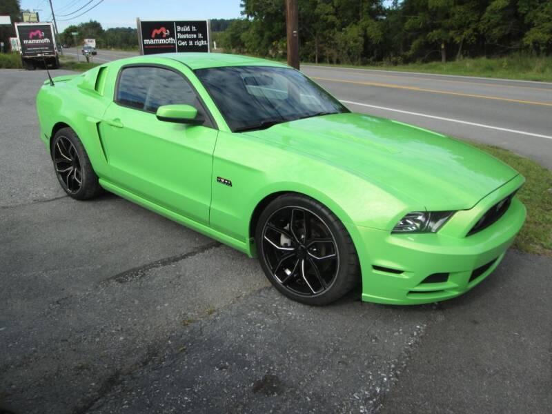 2013 Ford Mustang for sale at WORKMAN AUTO INC in Pleasant Gap PA