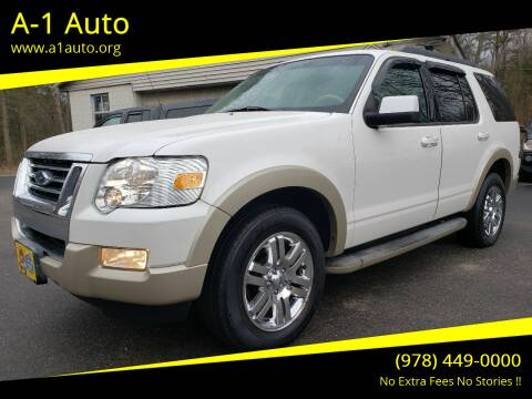 2010 Ford Explorer for sale at A-1 Auto in Pepperell MA