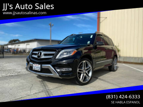 2015 Mercedes-Benz GLK for sale at JJ's Auto Sales in Salinas CA