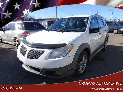 2007 Pontiac Vibe for sale at Cromax Automotive in Ann Arbor MI