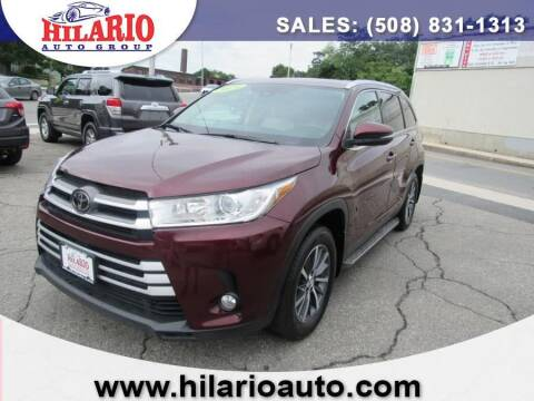 2019 Toyota Highlander for sale at Hilario's Auto Sales in Worcester MA
