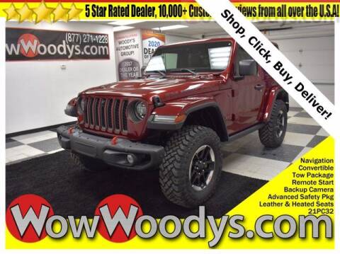 2021 Jeep Wrangler for sale at WOODY'S AUTOMOTIVE GROUP in Chillicothe MO