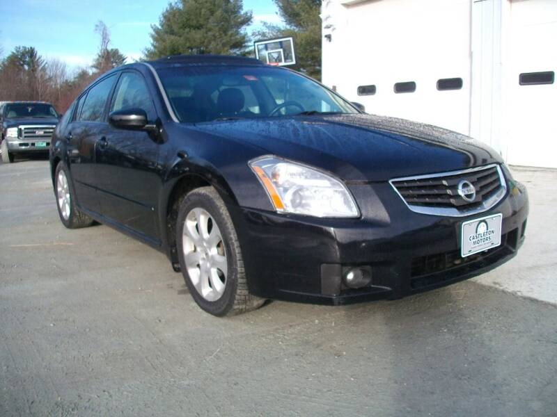 2008 Nissan Maxima for sale at Castleton Motors LLC in Castleton VT