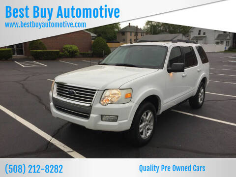 2010 Ford Explorer for sale at Best Buy Automotive in Attleboro MA