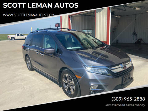 2019 Honda Odyssey for sale at SCOTT LEMAN AUTOS in Goodfield IL