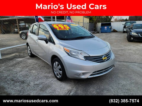 2015 Nissan Versa Note for sale at Mario's Used Cars in Houston TX