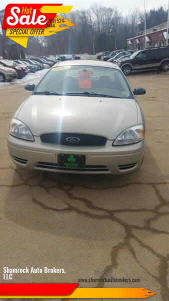 2007 Ford Taurus for sale at Shamrock Auto Brokers, LLC in Belmont NH