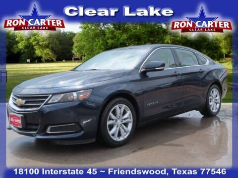 2017 Chevrolet Impala for sale at Ron Carter  Clear Lake Used Cars in Houston TX
