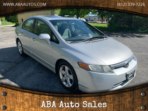 2008 Honda Civic for sale at ABA Auto Sales in Bloomington IN