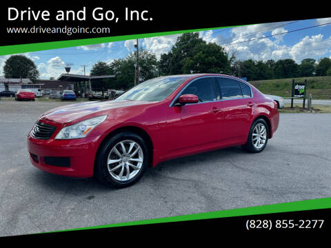 2008 Infiniti G35 for sale at Drive and Go, Inc. in Hickory NC