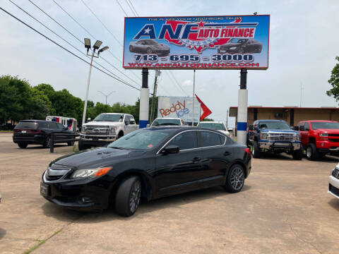 2013 Acura ILX for sale at ANF AUTO FINANCE in Houston TX