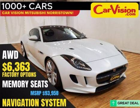 2017 Jaguar F-TYPE for sale at Car Vision Buying Center in Norristown PA