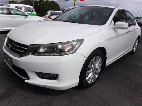 2013 Honda Accord for sale at PONO'S USED CARS in Hilo HI
