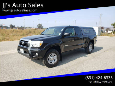 2014 Toyota Tacoma for sale at JJ's Auto Sales in Salinas CA