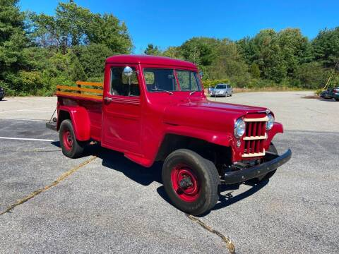 1954 Willys Jeep for sale at Clair Classics in Westford MA