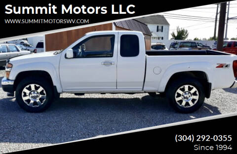 2012 Chevrolet Colorado for sale at Summit Motors LLC in Morgantown WV