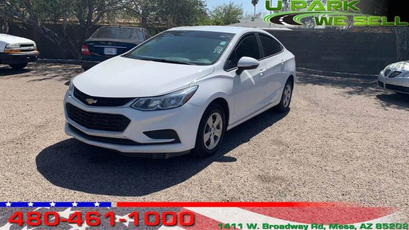 2017 Chevrolet Cruze for sale at UPARK WE SELL AZ in Mesa AZ