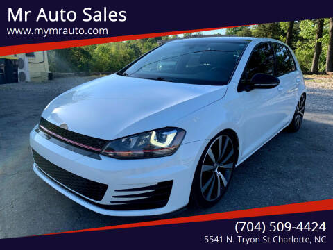 2015 Volkswagen Golf GTI for sale at Mr Auto Sales in Charlotte NC