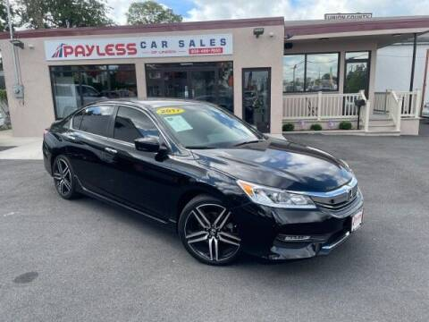 2017 Honda Accord for sale at PAYLESS CAR SALES of South Amboy in South Amboy NJ