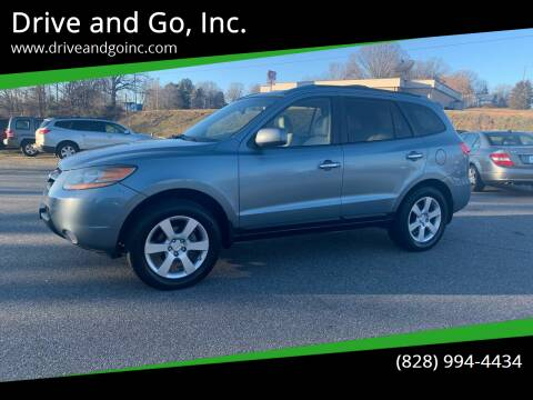 2009 Hyundai Santa Fe for sale at Drive and Go, Inc. in Hickory NC