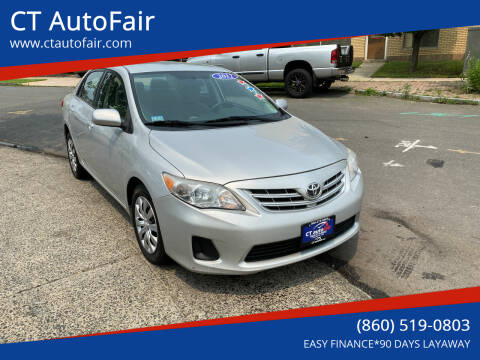2013 Toyota Corolla for sale at CT AutoFair in West Hartford CT