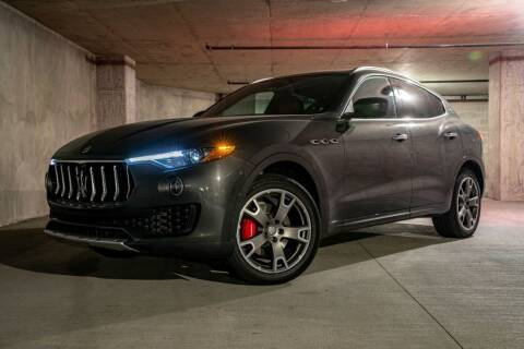 2017 Maserati Levante for sale at Halo Motors in Bellevue WA