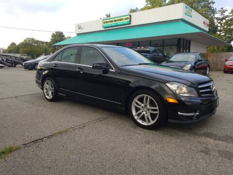 2013 Mercedes-Benz C-Class for sale at Action Auto Specialist in Norfolk VA