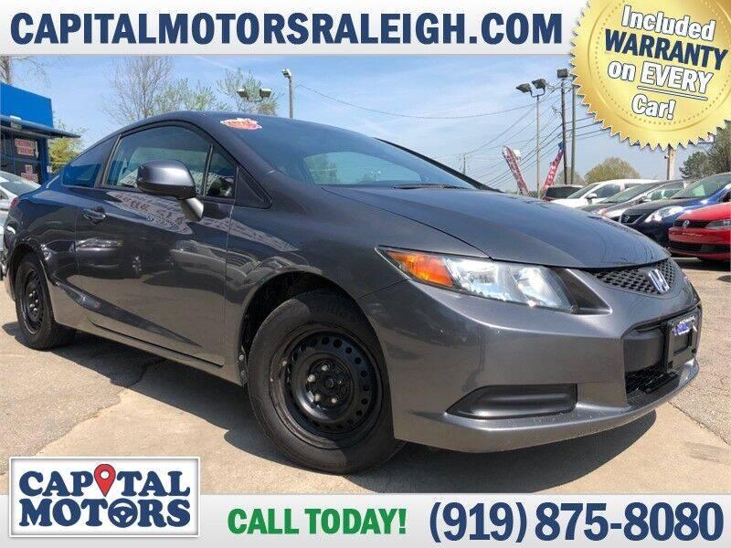 2012 Honda Civic for sale at Capital Motors in Raleigh NC