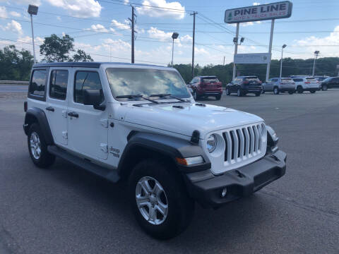 2018 Jeep Wrangler Unlimited for sale at Pine Line Auto in Olyphant PA
