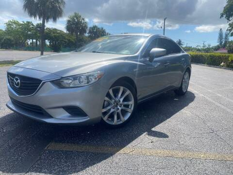 2014 Mazda MAZDA6 for sale at Lamberti Auto Collection in Plantation FL