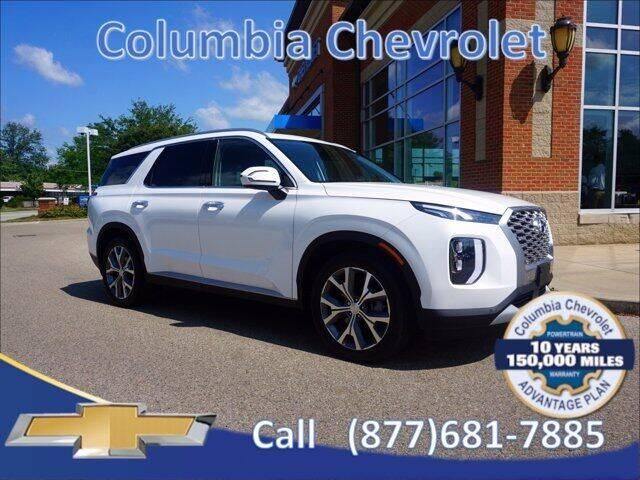 2021 Hyundai Palisade for sale at COLUMBIA CHEVROLET in Cincinnati OH
