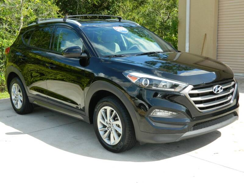 2016 Hyundai Tucson for sale at Jeff's Auto Sales & Service in Port Charlotte FL