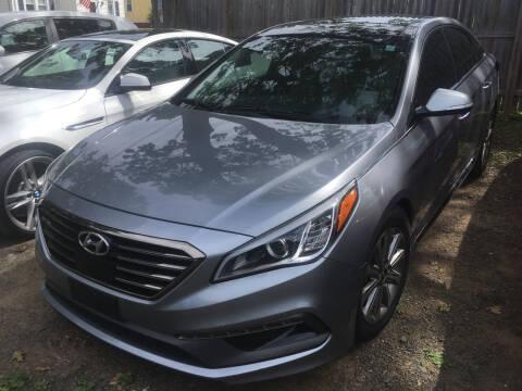 2016 Hyundai Sonata for sale at MELILLO MOTORS INC in North Haven CT