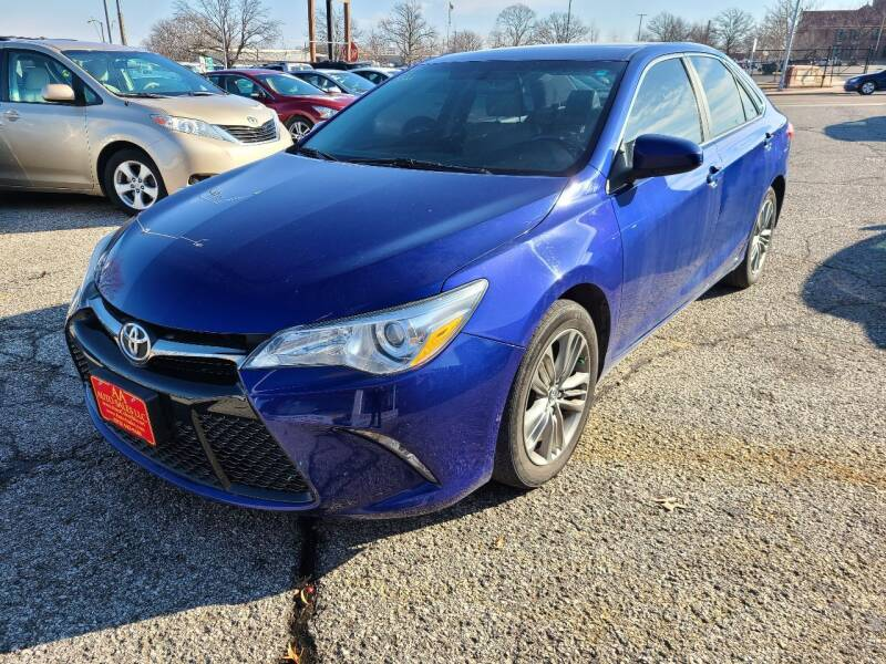2015 Toyota Camry for sale at AA Auto Sales LLC in Columbia MO