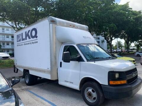 2014 Chevrolet Express Cutaway for sale at INTERNATIONAL AUTO BROKERS INC in Hollywood FL