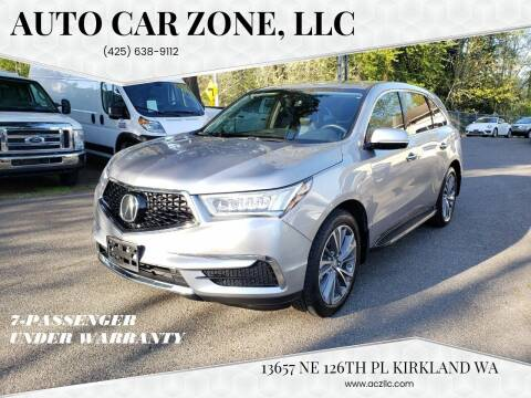 2017 Acura MDX for sale at Auto Car Zone, LLC in Kirkland WA