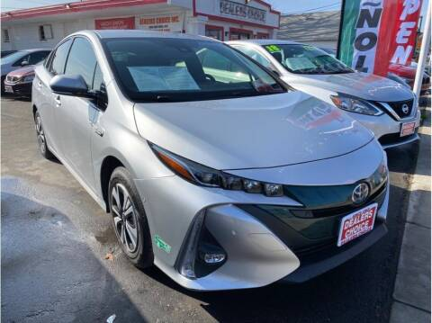 2017 Toyota Prius Prime for sale at Dealers Choice Inc in Farmersville CA