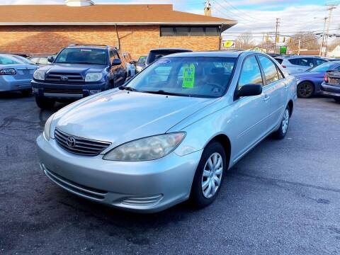 2006 Toyota Camry for sale at Dijie Auto Sale and Service Co. in Johnston RI