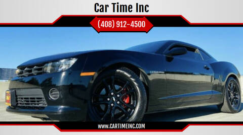 2014 Chevrolet Camaro for sale at Car Time Inc in San Jose CA