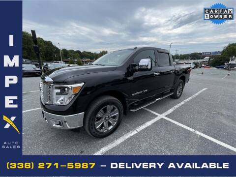 2019 Nissan Titan for sale at Impex Auto Sales in Greensboro NC