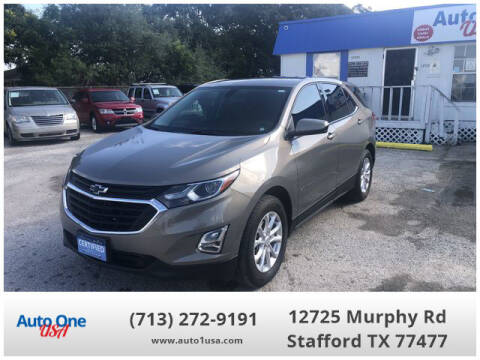2018 Chevrolet Equinox for sale at Auto One USA in Stafford TX